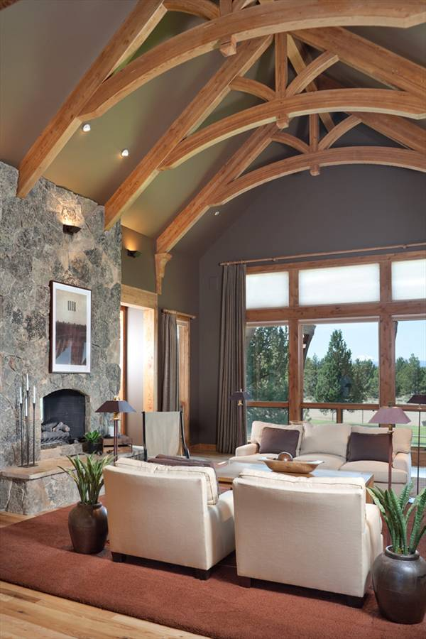 Ranch home plans with cathedral ceilings for Home plans with vaulted ceilings