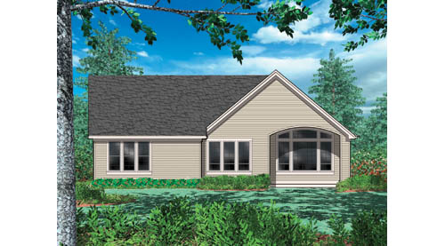 Hollis 2432 - 3 Bedrooms and 2 Baths | The House Designers