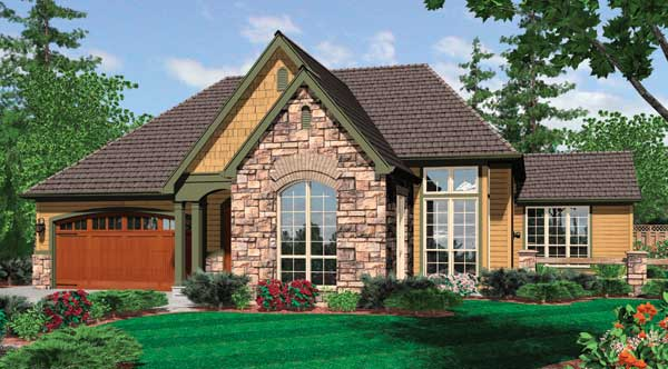 House Plan 5261: 2 Bedroom 2 Bath House Plans