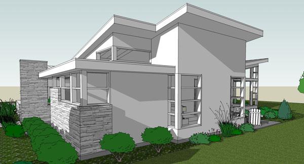 House layout sketchup