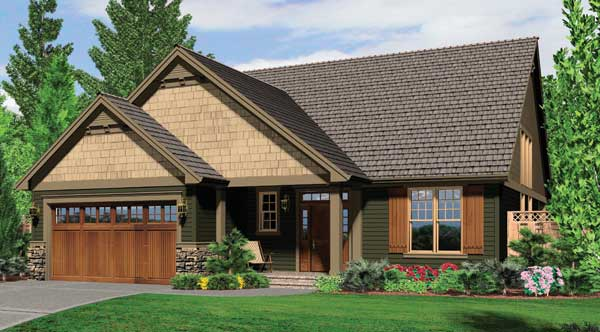 Gorham 5524 3 Bedrooms And 2 Baths The House Designers