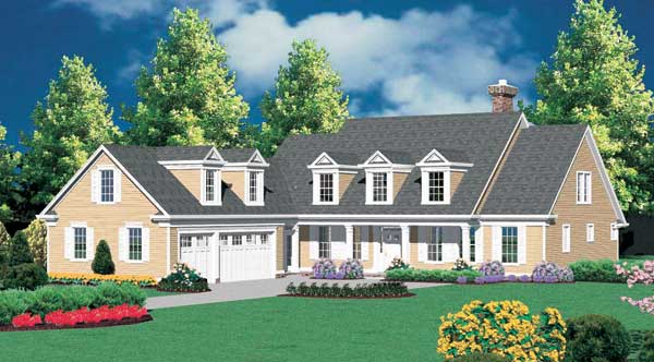 Duxbury 2587 4 Bedrooms and 2 Baths The House Designers