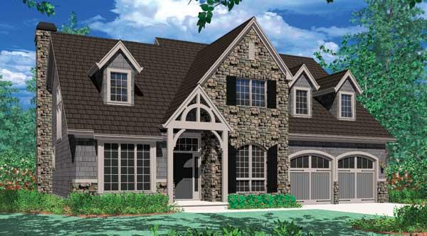 House plans with dormer windows house design plans for Dormer house plans