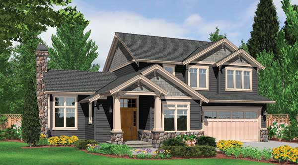 Learn about home efficiency on earth day the house designers for Energy efficient craftsman house plans