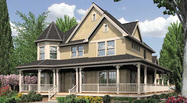Victorian House Plans, Old Historic & Small Style Home Floorplans