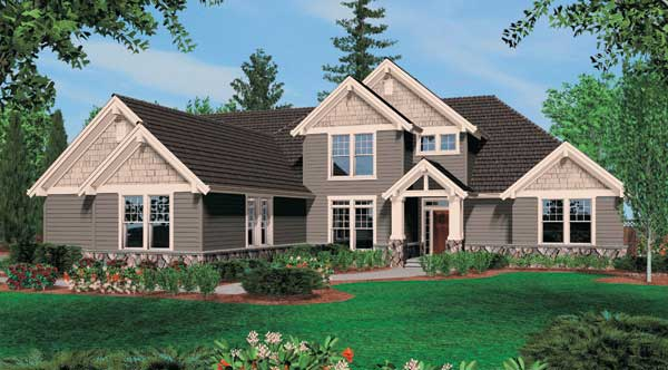 Williamsburg 5253 4 bedrooms and 3 baths the house for Williamsburg home plans