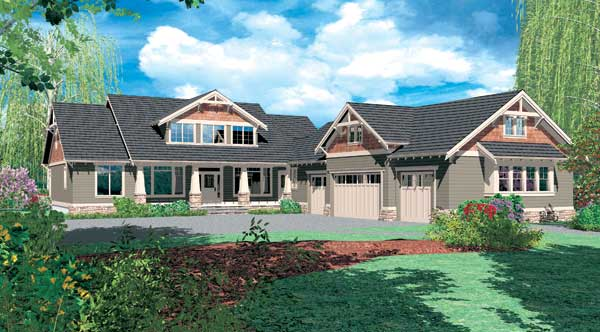 Needham 2728 4 bedrooms and 3 baths the house designers - Design my dream home online free ...