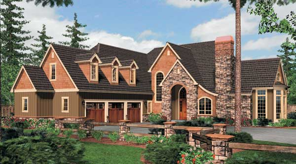 THD-5250 Long Island House Plan