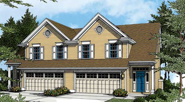 Marlborough 2766 3 bedrooms and 2 baths the house for 2 story floor plans without garage