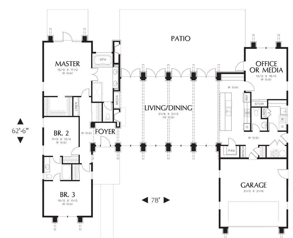 millennials the emerging homeowners the house designers this contemporary open floor plan