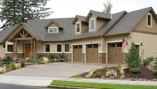 image of Halstad Craftsman Ranch House Plan