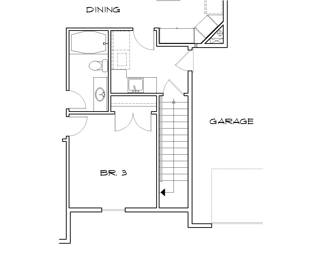 Stamford 2428 3 Bedrooms And 2 5 Baths The House Designers