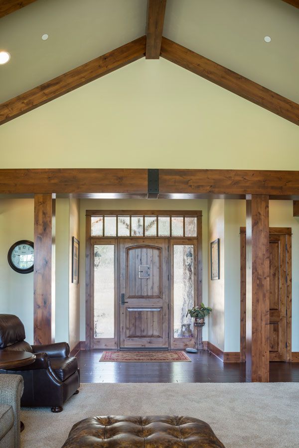 Foyer Plan : Craftsman one story house plan