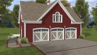 Garage Plans, Loft Designs, Garage Apartment Plans for Cars & RVs