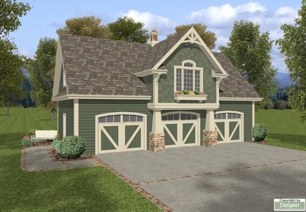 The belmont carriage house 7125 1 bedroom and 1 5 baths for Large carriage house plans