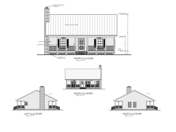 The Mountain Retreat 6746 2 Bedrooms and 1 Bath The House Designers
