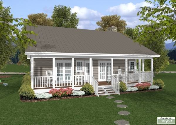 The mountain brook 7920 2 bedrooms and 1 bath the for Small retirement home plans