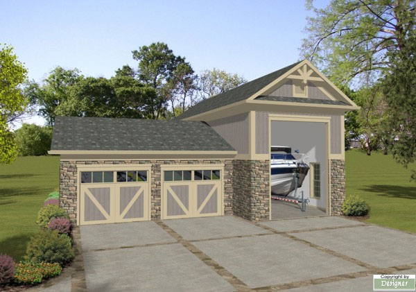 Boat Rv Garage 1754 The House Designers