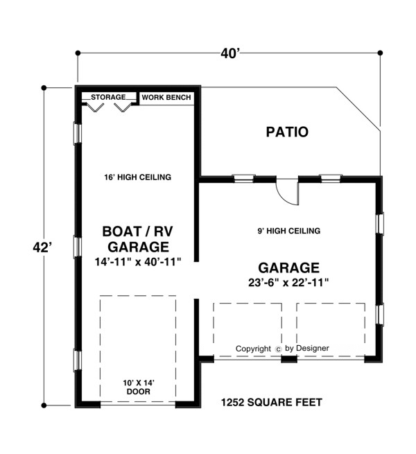 RV-Garage 3070 | The House Designers