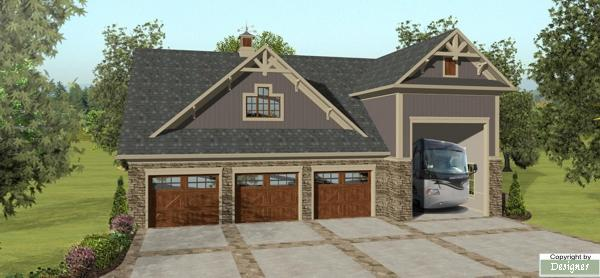 The grande carriage house 3328 2 bedrooms and 1 5 baths for Large carriage house plans