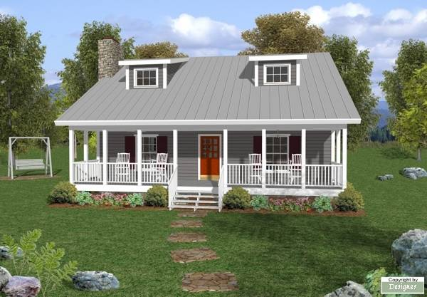 House Plan 6619: Small Cabin Plans