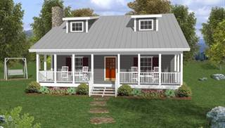 image of The Mountain View House Plan