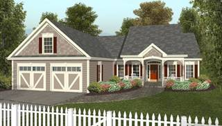 image of the small country cottage house plan - Small Cottage House Plans