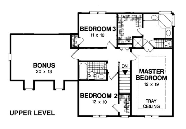 The sullivan 7590 3 bedrooms and 2 baths the house for Sullivan house plans
