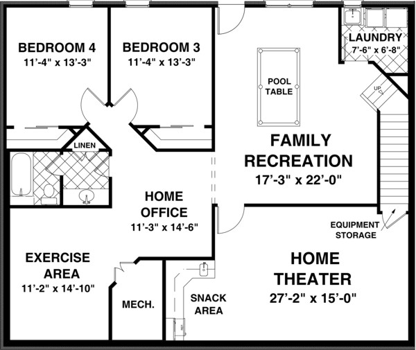 Home Plans Anderson Indiana in addition Franciscan House Plan in addition Formal Plan With Angled Garage in addition 2078 Square Feet 4 Bedroom 3 Bathroom 1 Garage Modern 38303 besides 1300 Square Foot Two Story House Plans. on a 4 bedroom ranch house open plan with garage