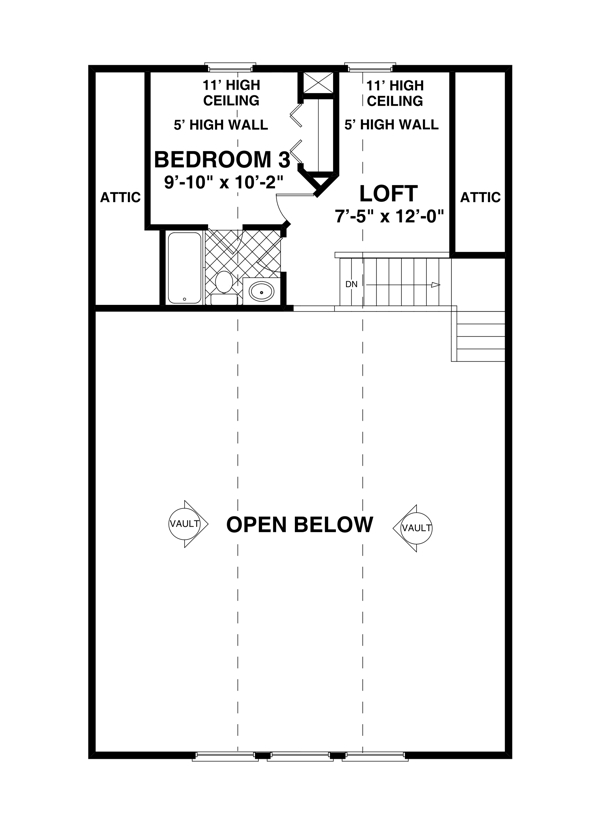 Upper Level Floorplan