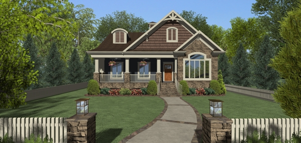 the evergreen cottage 3156 3 bedrooms and 25 baths the house designers - House Designers