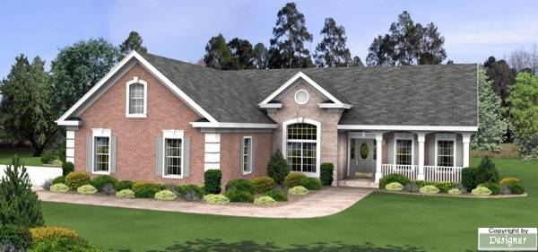 The Wyndham 8308 - 3 Bedrooms and 3 5 Baths | The House Designers