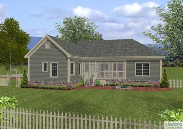 The wellsley cottage s 7675 4 bedrooms and 3 5 baths for Shouse ideas