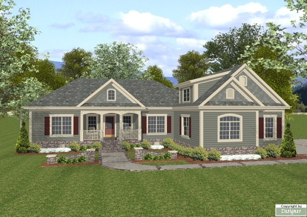 Cottage s 7675 4 bedrooms and 3 5 baths the house designers