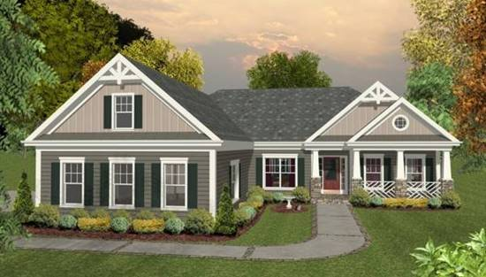 image of The Blue Ridge House Plan