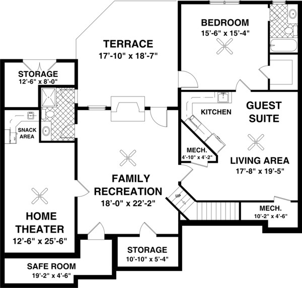 Optional Basement Plan