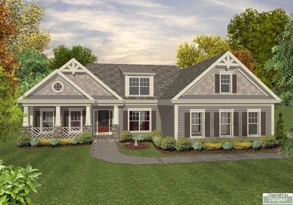 The Madison 8449 - 3 Bedrooms and 2.5 Baths | The House Designers