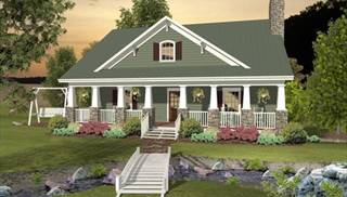 1-1/2 Story House Plan