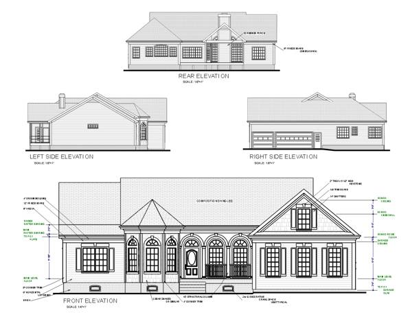 The Conley 6306 3 Bedrooms and 2 Baths The House  Designers