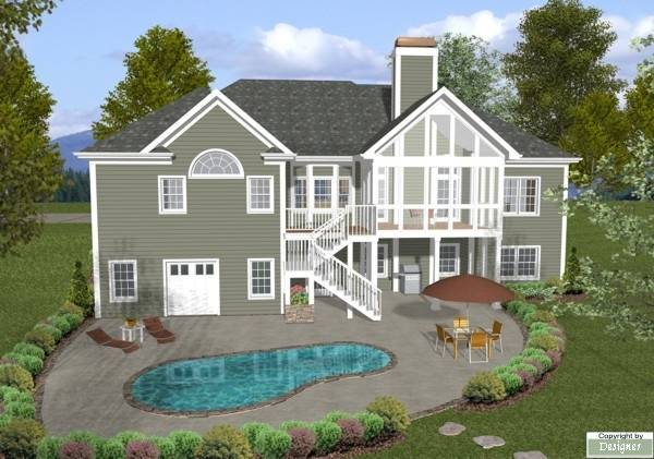 The Mount Airy 8460 3 Bedrooms And 2 Baths The House Designers