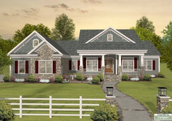 Long Meadow Ranch House Plan