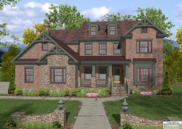 The stonegate 7924 4 bedrooms and 4 5 baths the house for Stonegate farmhouse plans