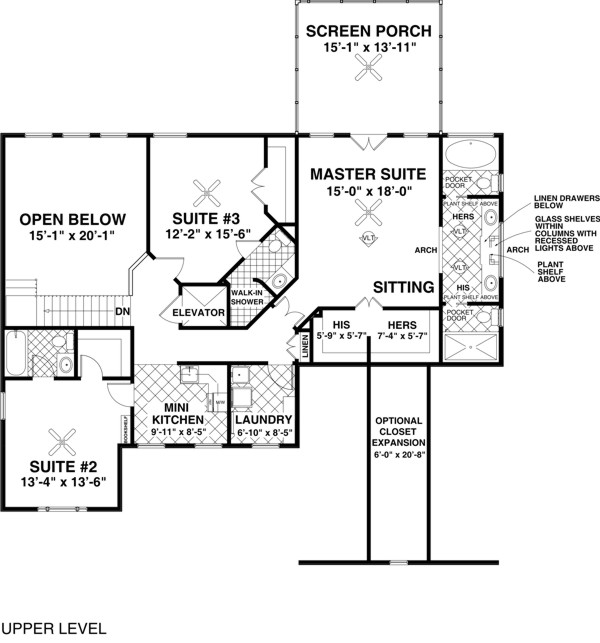 The stonegate 7923 4 bedrooms and 4 5 baths the house for Stonegate farmhouse plans