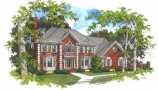 План схема однаэтажного дома 8х8. foto 1 proekt kirpichnogo doma nebolshoy ploshhadi Дом схема мансардом проекты.