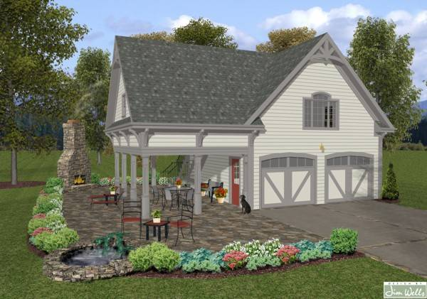 Country House Plans With Porch