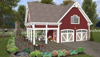 image of The Charleston Carriage House House Plan
