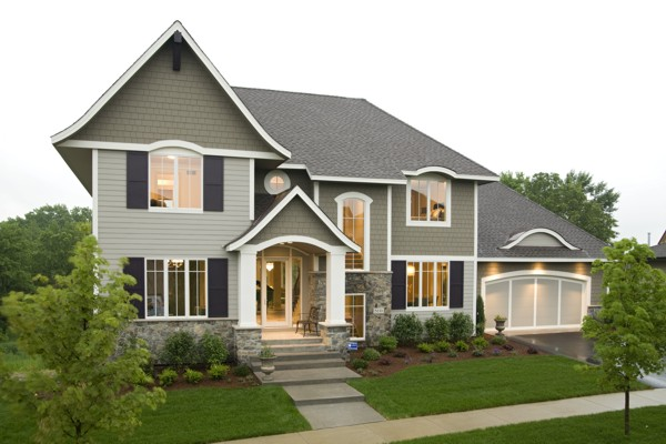 front view house plans home design and style