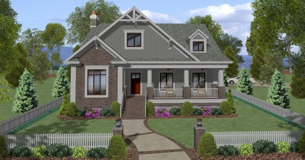 Craftsman Style House Plan 7380 The Cascade Cottage