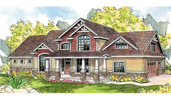 Stone Creek | Log Home & Timber Frame Hybrid