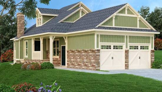 image of Dell Wood Cottage - 1006 House Plan